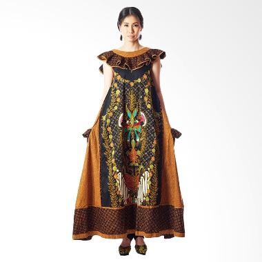 Anne Avantie Landung Megantara Batik Dress - Brown