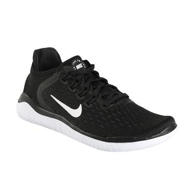 NIKE Women Running Free 2018 Sepatu Lari Wanita - Black [942837-001]