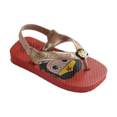 Havaianas Herois Cf 2090 Baby Sandals - Ruby Red