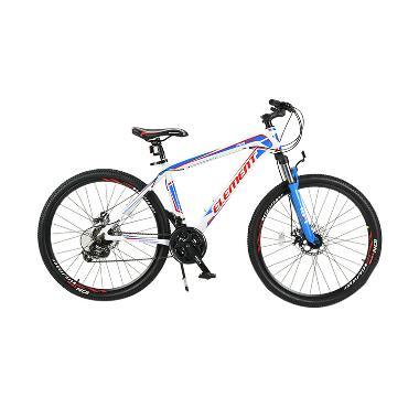 harga Element MTB XC Format Sepeda Gunung - Putih Biru [Frame Alloy/21 Speed/26 Inch] Blibli.com