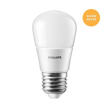 Philips Lampu LED Bulb 4 W (40W) Warm White/Kuning