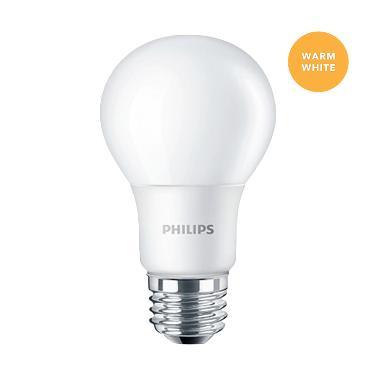 Philips Lampu LED Bulb 5 (50W) Warm White/Kuning