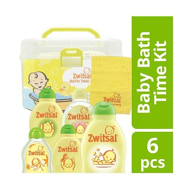 Zwitsal Bath Time Kit Set Perlengkapan Mandi Anak