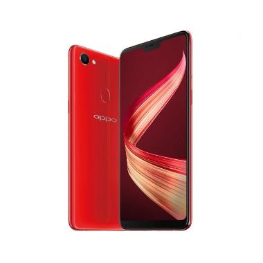 OPPO F7 Smatphone - Red [64GB/ 4GB]