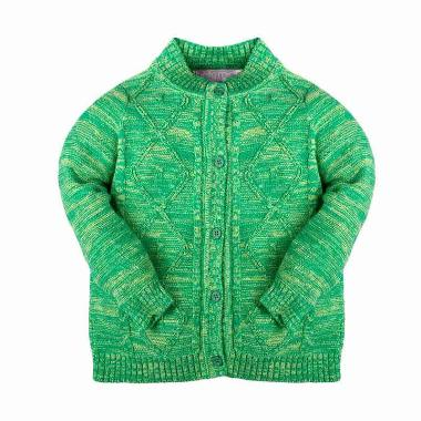 Hello Mici Knitwear Belta Jaket Bayi - Green