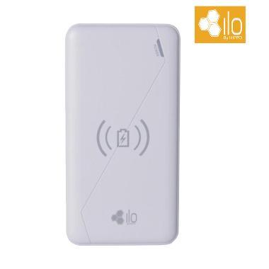 ILO W2 Wireless Powerbank - White [10000 mAh]