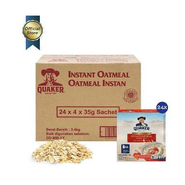 Quaker Instant Oatmeal [Box 4s/ 1 Carton/ 24 pcs]