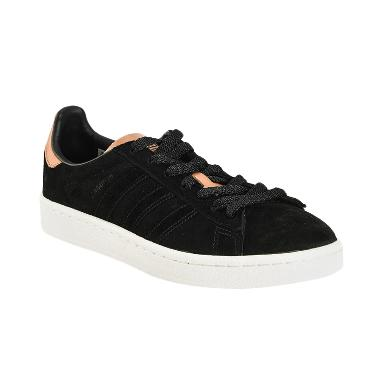 adidas Originals Women Campus Shoes ... a Wanita - Black [BB0030]