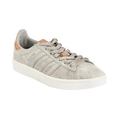 harga adidas Originals Women Campus Shoes Sepatu Olahraga Wanita - Clear Granite [BB0031] Blibli.com
