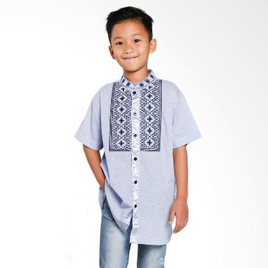 Versail Kids Motif Maroco Family Junior Baju Koko Anak
