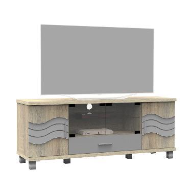 Super Furniture AV 803 Rak dan Meja TV - Sonoma Oak