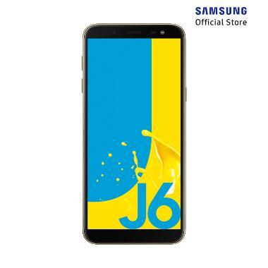 Samsung Galaxy J6 Smartphone - Gold [32GB/ 3GB/ O]
