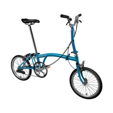 Brompton M2E 2018 Sepeda Lipat