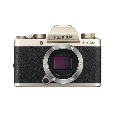 harga Fujifilm X-T100  Kamera Mirrorless [Body Only] XT100 . X T100 . XT 100  + Sandisk Sd 16 gb + Sandisk SD Extreme 32Gb Blibli.com