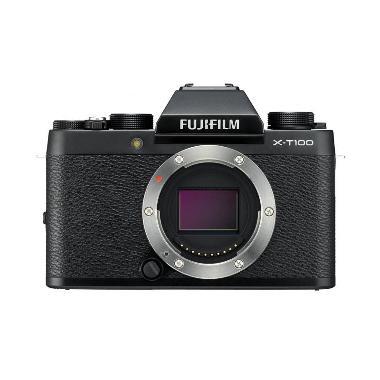 harga Fujifilm X-T100  Kamera Mirrorless [Body Only] + Free Sandisk 16GB + Free SDHC Extreme 32GB by claim Blibli.com