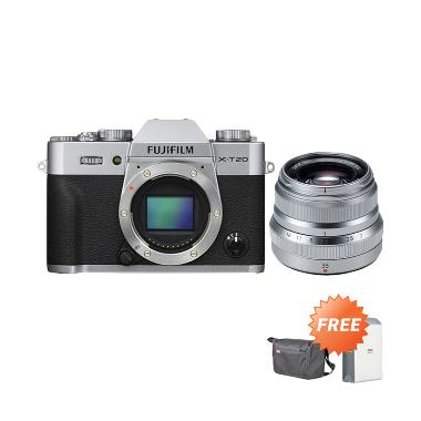 Fujifilm X-T20 Body Kamera Mirrorle ...  Sirui Sling Bag By Claim