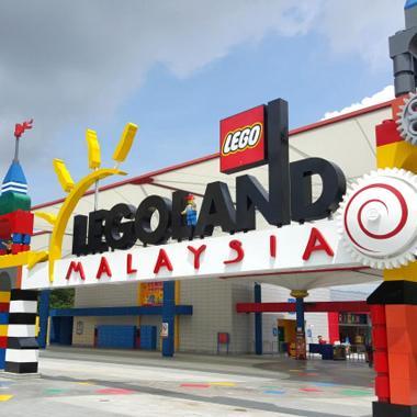Infinity Travel - Legoland Malaysia Combo - Waterpark & Themepark E-Tiket  [2 Day Pass]