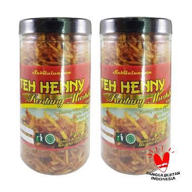Teh Henny Kentang Mustofa Pedas Makanan Ringan [250g/ 2pcs]