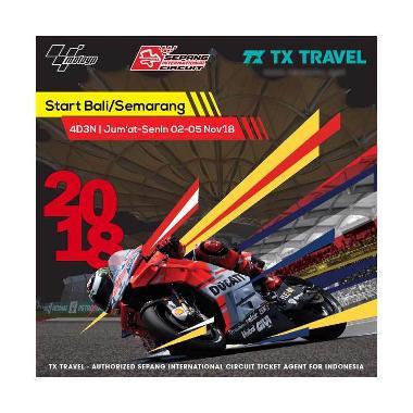TX Travel Paket Tour Sepang MotoGP  ... a [4D3N/ Hotel Bintang 2]