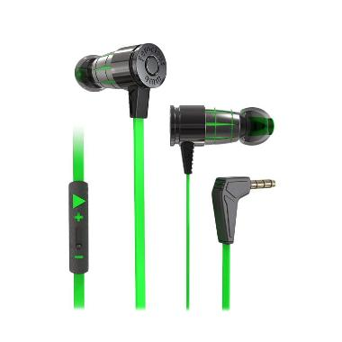 harga PLEXTONE G25 Bullet In Ear Monitor HiFi Gaming Headset Green Blibli.com