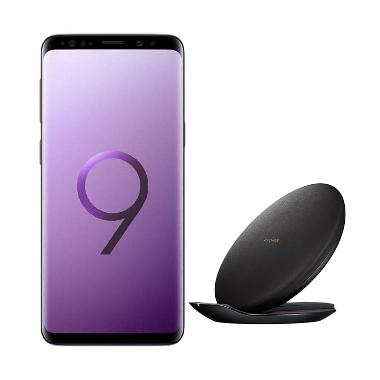 Samsung Galaxy S9+ Smartphone - Lil ... vertible Wireless Charger