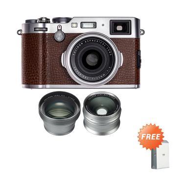 Fujifilm X100F + WCL-X100 II Silver ... * jpckemang GARANSI RESMI