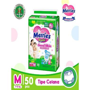 harga Merries Pants Good Skin M 50  Popok Bayi Blibli.com