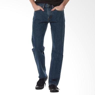 Levi's 505T Regular Fit Celana Panjang Pria - Biru Muda [SW 00505-4886]