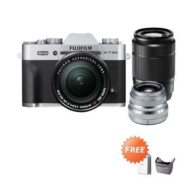 Fujifilm XT20 XC 16-50mm Kamera Mir ... ttery NP-W126S (By Claim)