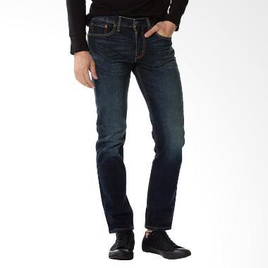 Levi's 511 Slim Fit Jeans Ama Sequoia Celana Pria - Biru [04511-2404]