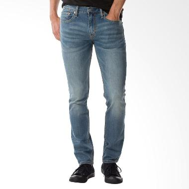 Levi's 511T Slim Fit Cool Jeans Celana Pria - Biru [04511-2654]