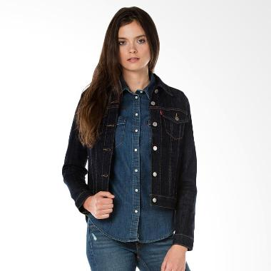 Levi's 29945-0013 Trucker Even Rinse Denim Jaket Wanita [Original]