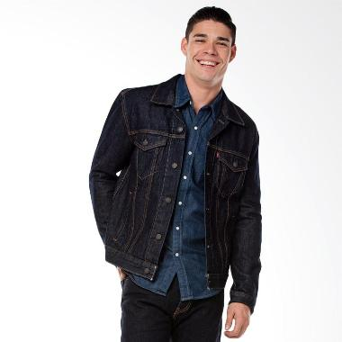 Levi's The Trucker Rinse Jacket Pria [72334-0134]