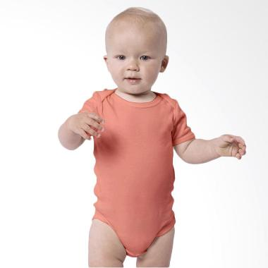 Little Palmerhaus Everyday Wear Bodysuit Short Sleeve Jumpsuit Bayi