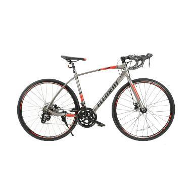 harga Element FRC 51 Sepeda Roadbike - Grey Red [Frame Alloy/7 Speed/700C] Blibli.com