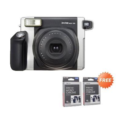 Fujifilm Instax Wide 300 Kamera Pol ... e 2 Wide Paper Monochrome