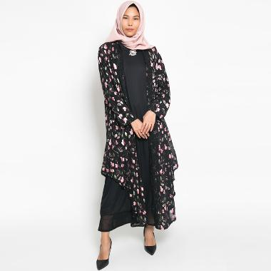 Kasa Heritage Leila Long Vest and Dress Set Gamis Wanita