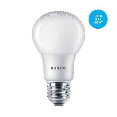 Philips LED Bulb 6 watt 6500K Cool Day light / Putih 1CT/12 INDO