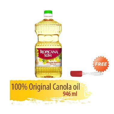 Tropicana Slim Minyak Kanola + Free Spatula Kecil