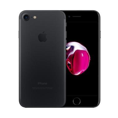harga [REFURBISHED] Apple iPhone 7 32GB Smartphone Black Matte Blibli.com