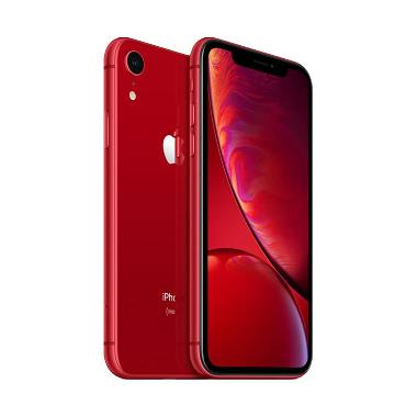 Apple Iphone Xr 128 Gb Smartphone Singapore Set Free Softcase Tempered Glass