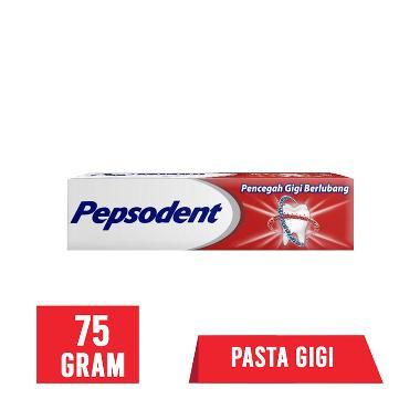 harga FS - Click&Collect PEPSODENT Pencegah Gigi Berlubang Pasta Gigi [75 g] Blibli.com