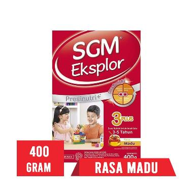 SGM Eksplor 3 Plus Madu Susu Formula [400 g]