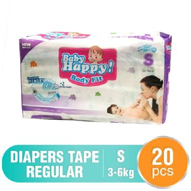 Baby Happy Diapers Tape Regular S20