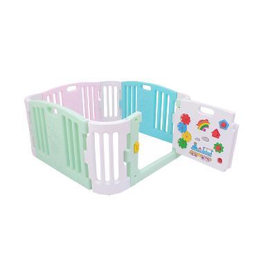 Labeille Baby Playpen Kc009 Pagar Bermain Anak With Door Pastel