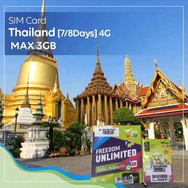 harga SIM Card Thailand [7Days] 4G - Max 3GB Blibli.com