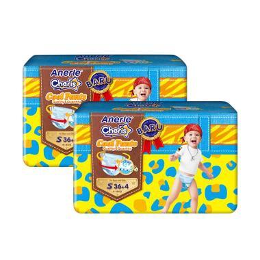 Anerle Cheris Popok Bayi [Size S40x2 Jumbo Pack]