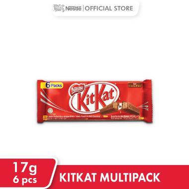 KitKat Multipack Wafer Cokelat [17 g / 6 pcs]