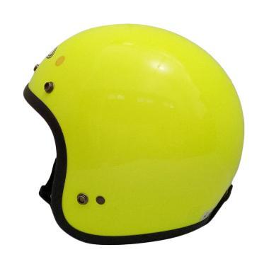 Zeus Retro ZS-385 Helm Half Face - Zyellow
