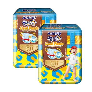 Anerle Cheris Popok Bayi [Size S11x2 Trial Pack]